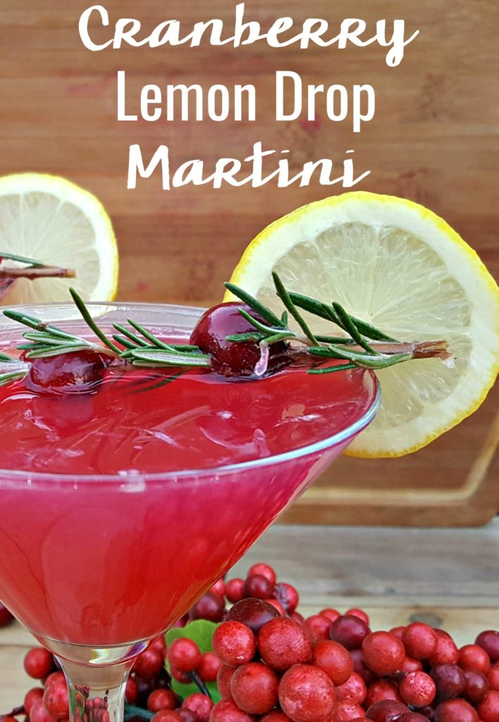 Whether you prefer sweet or sour, this fresh cranberry lemon drop martini recipe will soon be your go to for an eye catching and refreshing cocktail!