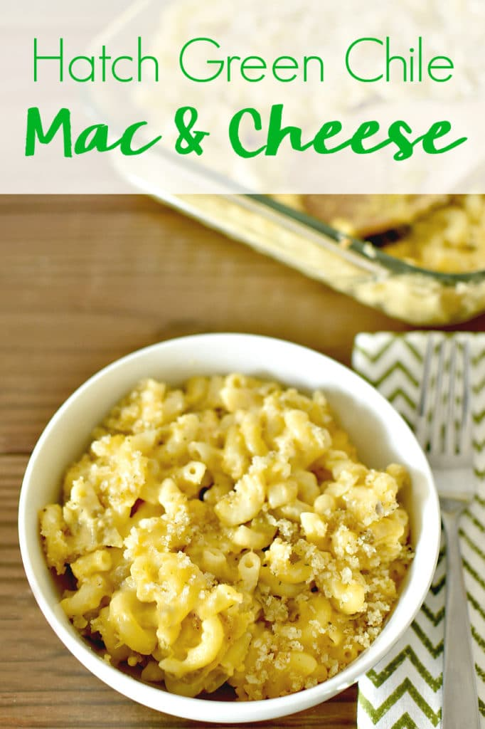 Get ready to add more flavor to your Big Game entertaining with this Hatch Chile Mac & Cheese recipe - full of bold flavor, a little bit of spice, and a whole lot of cheese that you need to try!