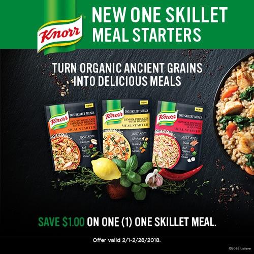knorr one skillet meals