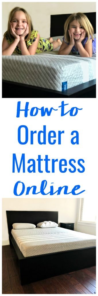 Shopping for mattresses can take up a ton of time and is never easy with kids. Thankfully these days you don't even have to leave your house. I'll show you why and how to order a mattress online!