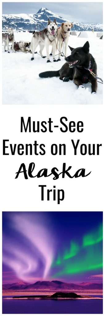 Visiting Alaska is likely a once-in-a-lifetime trip, but there's a way to make it even more unforgettable. Make sure to check out these 5 Major Events in Alaska You Need to See to Have the Best Alaska Trip!