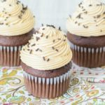 Forget plain old cupcakes. Take your dessert game to the next level with this Chocolate Bailey's Irish Cream Cupcakes recipe with Bailey's Irish Cream Buttercream Frosting. These rich chocolate cupcakes have Bailey's Irish Cream mixed into the batter and another dash of Bailey's is added to the perfectly balanced homemade buttercream. These cupcakes will leave an impression whether they're for St. Patrick's Day or another party!