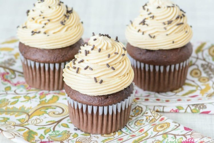 Insanely Delicious Boozy Chocolate Cupcakes with a Hidden Surprise