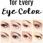 """Have you ever wondered to yourself, """"What is the best eyeshadow for blue eyes?"""" Well as a fellow blue-eyed woman, I've done the research on the best eyeshadow colors for blue eyes so you don't have to! Plus, here are the best color eyeshadows for all the other eye colors as well!"""