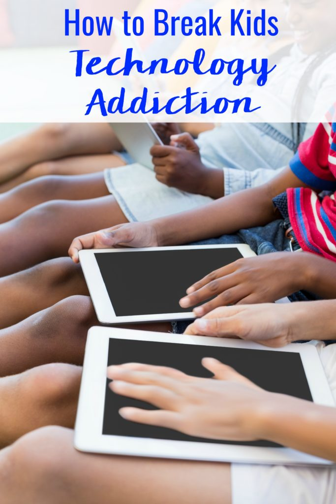 Do you have a suspicion that your child may be getting too much screen time? Do they get sullen and moody whenever their access to devices ends? Here's how you can help Break Kids Technology Addiction in 5 Easy Steps.