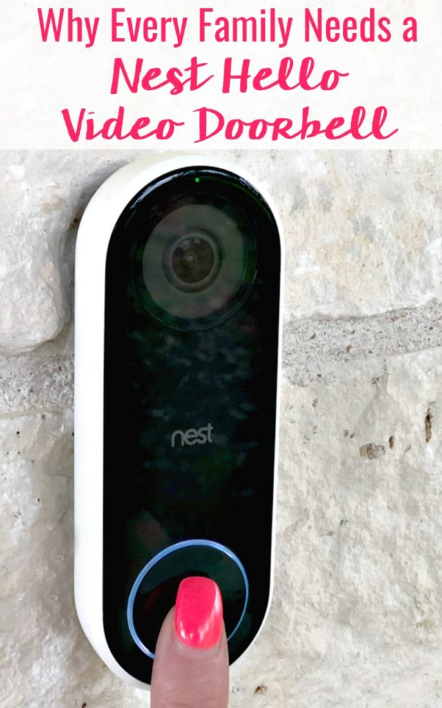 Nest Hello Doorbell Review with Every family needs smart wireless home security that's affordable. This Nest Hello Doorbell review will give you all the details on why your family needs this to stay safe and secure!