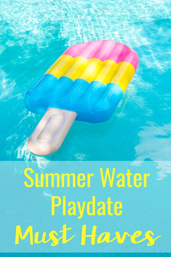 Don't overthink kids summer water playdate must haves. There are only 5 essentials you need and they're all super simple. Here's exactly what you need to have an easy, fun, and memorable summer!