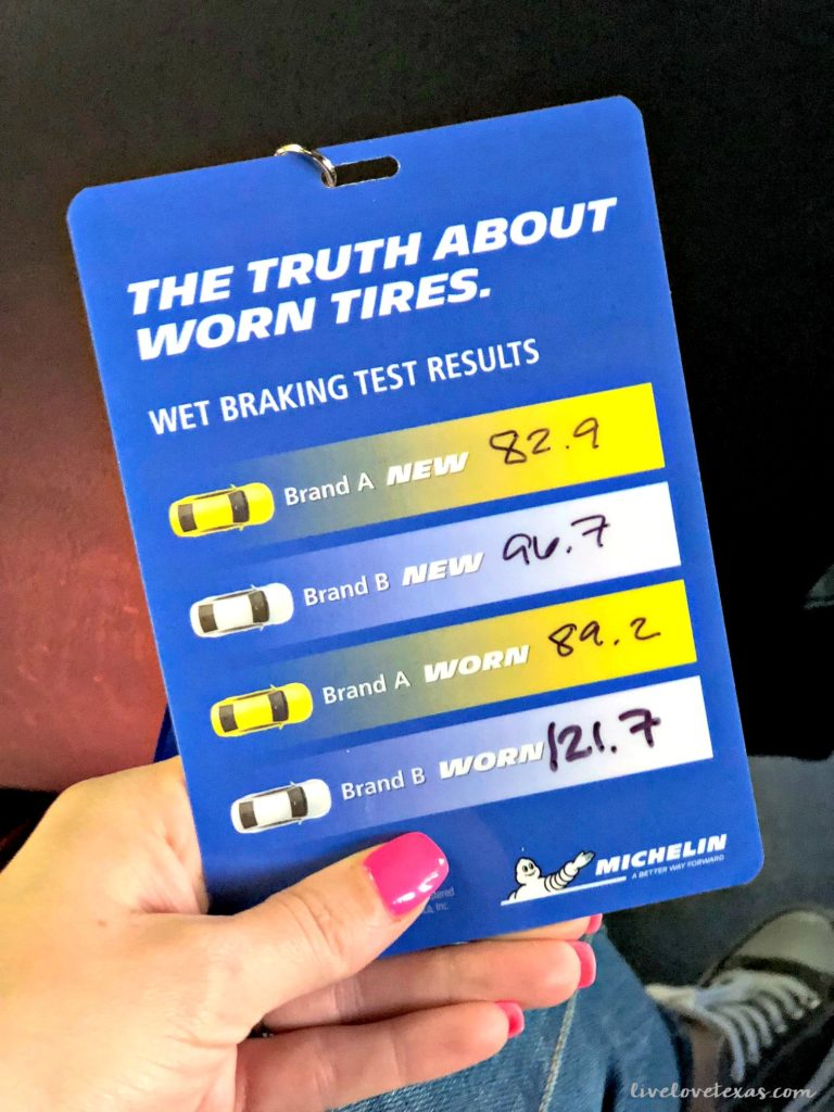 Keeping your family safe goes beyond the car your drive or the best car seat. I visited a world-renowned test track in South Carolina last month to drive four different tires. Learning the truth about worn tires was eye-opening and I'm sharing the practical takeaways for tire safety here!