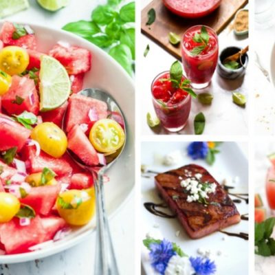25 Insanely Creative Watermelon Recipes You Need to Try this Summer