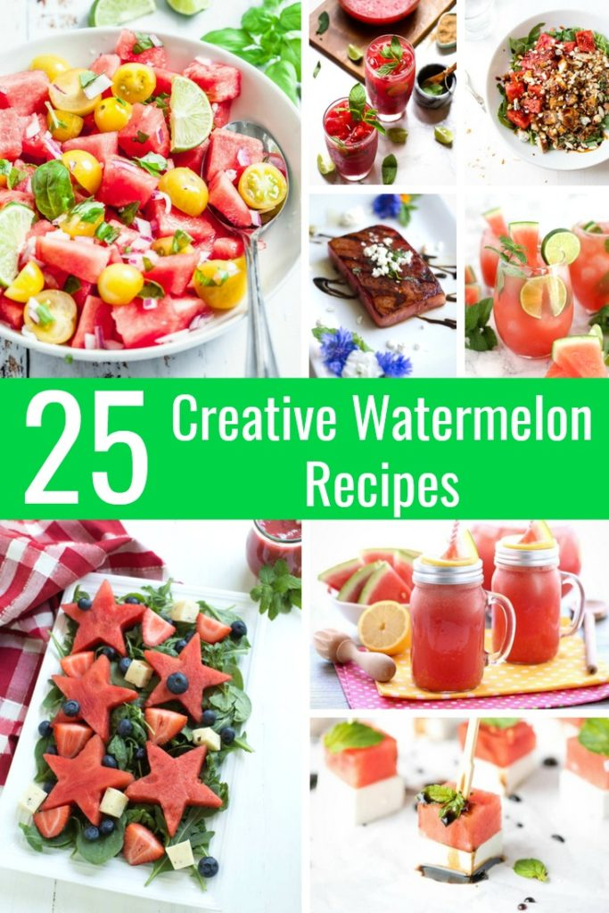You bought a huge watermelon, now what? Of course, watermelon tastes great as is, but there's so much more than just eating it plain. Mix things up with these 25 Insanely Creative Watermelon Recipes You Need to Try this Summer!