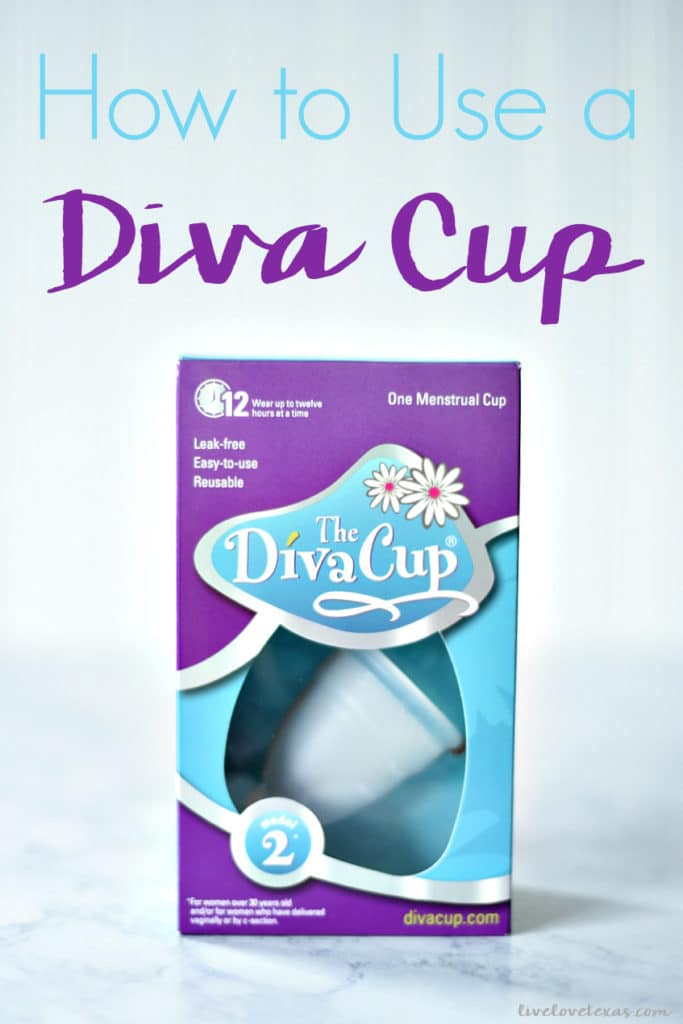 Ditch your pads and tampons. Save money, gain freedom, and avoid TSS with a menstrual cup. Here's everything you need to know about how to use a Diva Cup! #divacup #menstrualcup #period #femalehealth #menstration