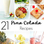 Pina coladas are the perfect blend of the smells and flavors of summer! But why be limited to just frozen cocktails? Now you can enjoy the pina colada flavors you love all day long with these 21 Pina Colada Recipes to Celebrate National Pina Colada Day!