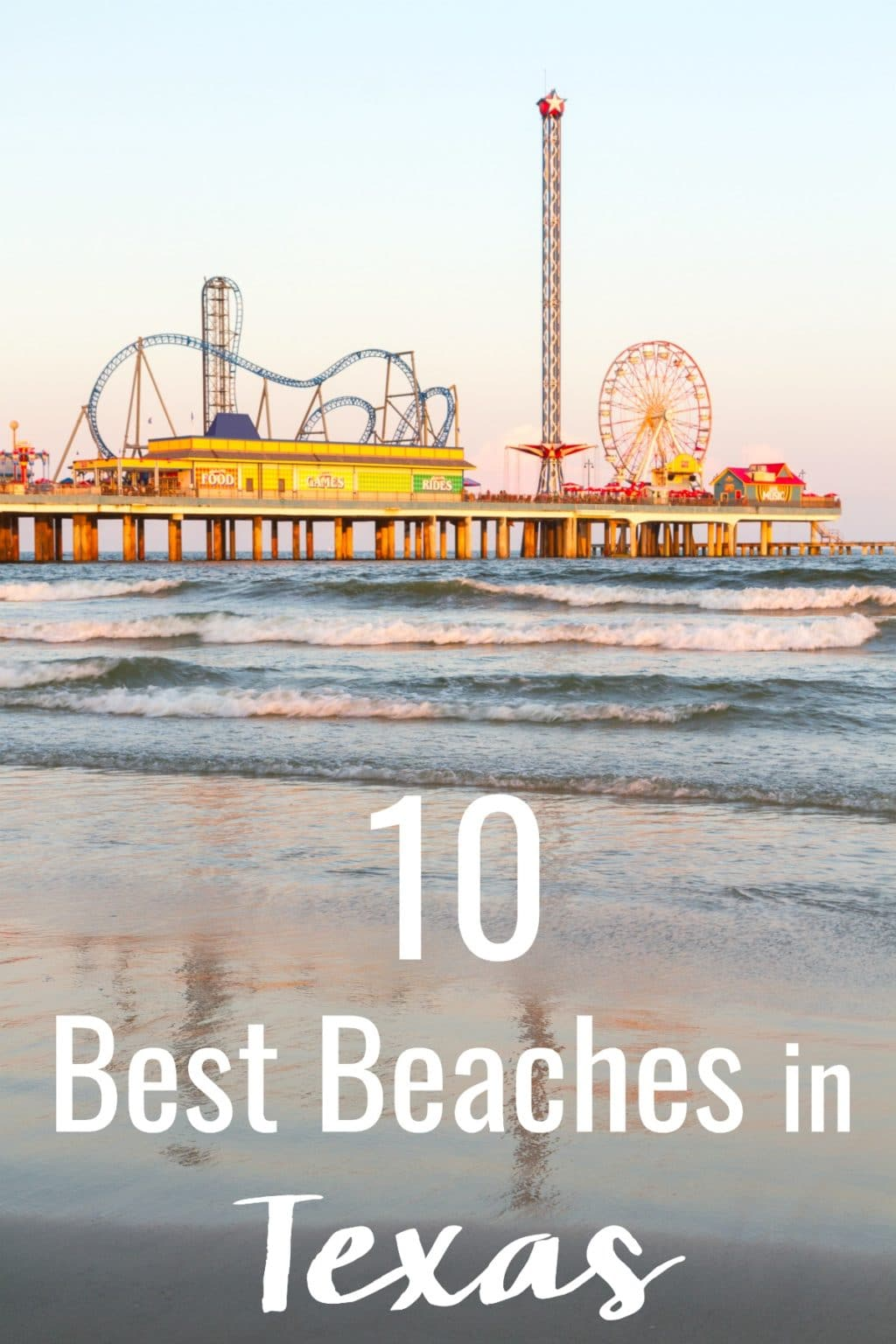 Texas is a big state, so there's never a shortage of things to do. When you're ready to head to the coast, check out this list of the 10 Best Beaches in Texas to find the perfect slice of sun and sand for you!