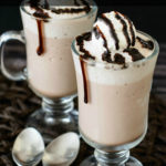 What is the best drink to make with Bailey's? You have to make the rich and indulgent Bailey's frozen hot chocolate recipe. It's super easy and so good!