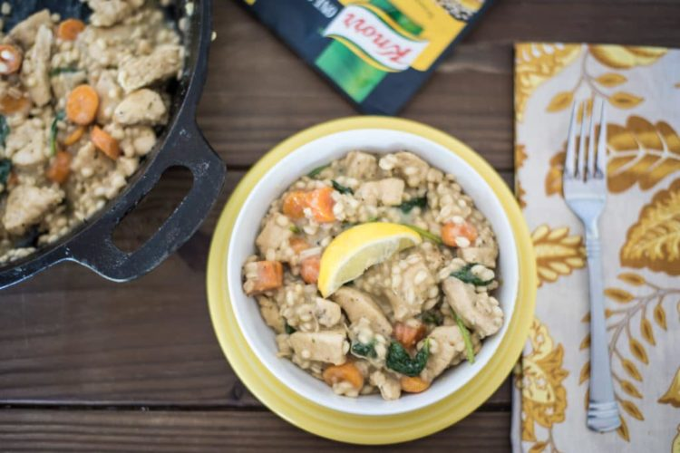 30 Minute Meal Idea: Lemon Chicken with Barley Recipe