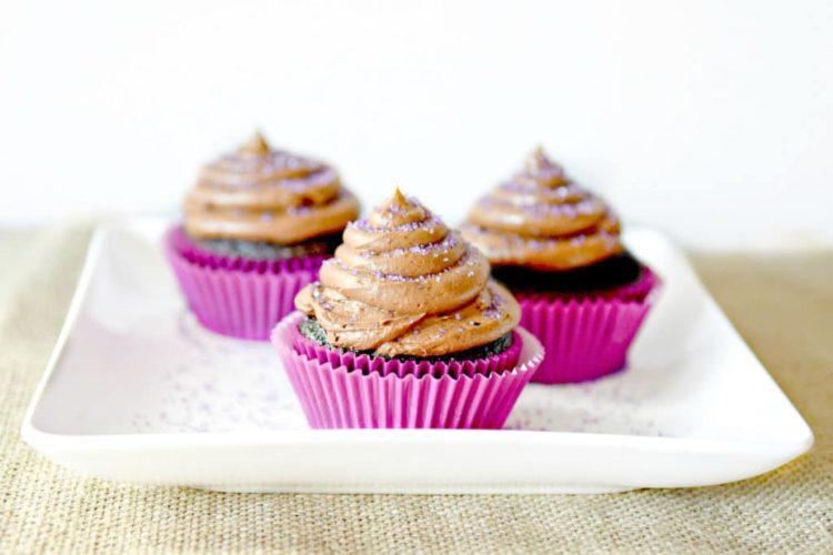Homemade Mexican Hot Chocolate Cupcakes Recipe