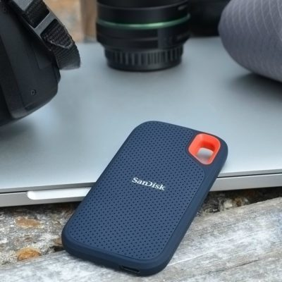 Back Up Photos On-The-Go with the SanDisk Extreme PRO Portable SSD