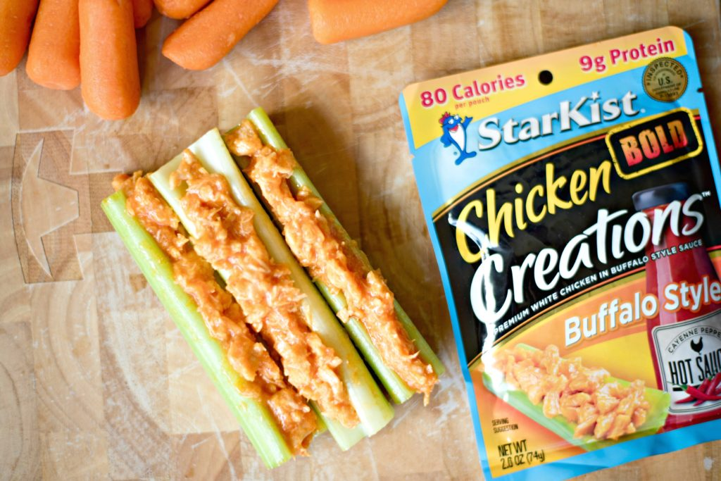 Convenience and healthy living don't need to be separate. For a meal on-the-go that you can feel good about try these 5 Ways to Serve StarKist Chicken Creations Buffalo!