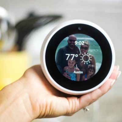 What is the Amazon Echo Spot?