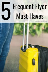 Have the most enjoyable travel experience you can with these 5 Frequent Flyer Must Haves. These are the best travel tips to keep you comfortable no matter how long your trip is!