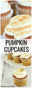 The best fall dessert is my pumpkin cupcakes. Follow my recipe to make cream cheese buttercream frosting for your next fall party.