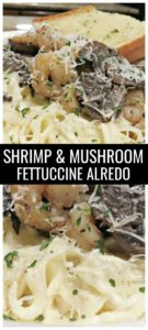 Mouthwatering and creamy restaurant style pasta that can be thrown together in under 30 minutes? It sounds too good to be true, but it's not with this quick and easy Shrimp and Mushroom Fettuccine Alfredo recipe. Wow your guests or just simplify dinner for your family.