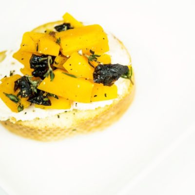 Easy Butternut Squash Crostini Recipe