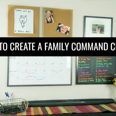 How to Create a Family Command Center Ideas & Inspiration