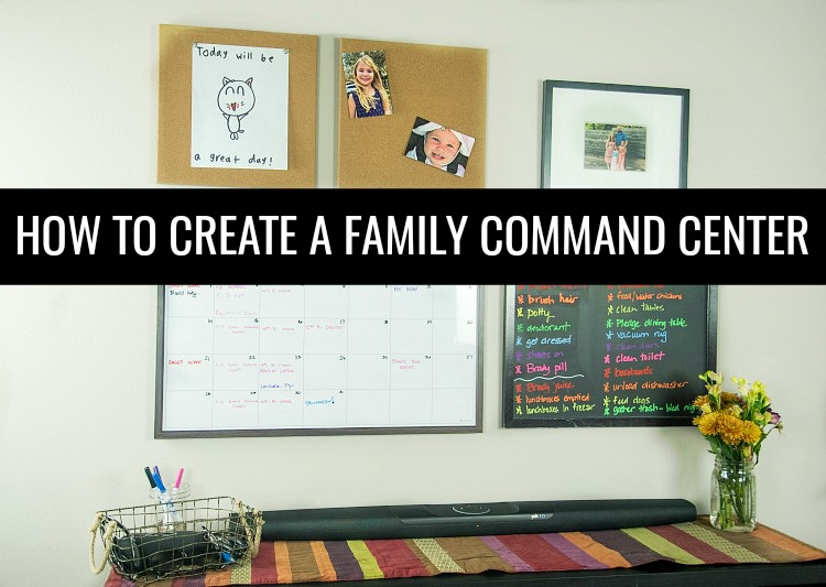 Are you constantly losing the things? Running around looking for the essentials? You need to Create a  Family Command Center that works for your life!