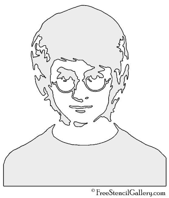 Harry Potter 3 Pumpkin Stencil
