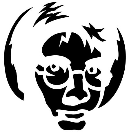 Harry Potter Silhouette Pumpkin Stencil