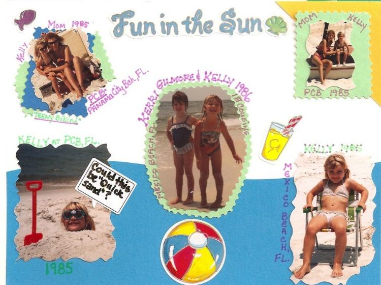 Panama City Beach Florida in the 80s