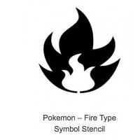 Fire Type Pokemon Pumpkin Stencils