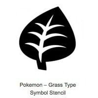 Grass Type Pokemon Pumpkin Stencils