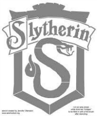 Slytherin Pumpkin Stencil