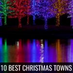 Get in the holiday spirit with the 10 best Christmas towns in Texas! All of the decorations, lights, and even snow to feel Christmas all season long!