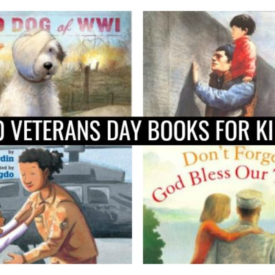 20 Veterans Day Books for Kids