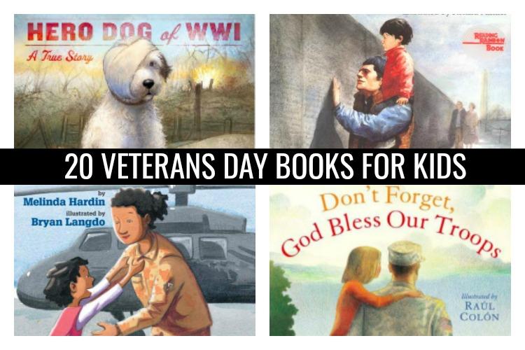 20 Veterans Day Books for Kids