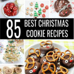 Don't stress over baking for your Christmas cookie exchange! Get ready with the 85 Best Christmas Cookie Recipes! From chocolate and sugar to peppermint and ginger, there's an easy Christmas cookies recipe for everyone!#christmascookies #christmasrecipes #easyrecipes #bestrecipes #cookierecipes #cookies #cookieexchange