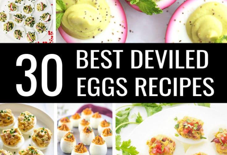 30 Best Deviled Egg Recipes