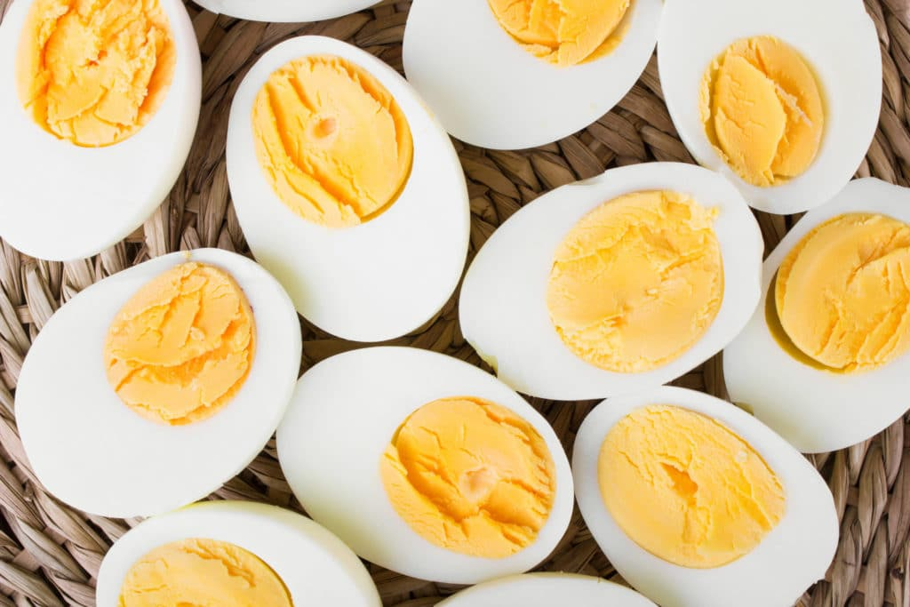 Learning how to make hard boiled eggs is easy! Now you'll get easy to peel hard boiled eggs every time and can make the best deviled eggs!