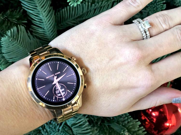 Rose Gold Michael Kors Runway Smartwatch