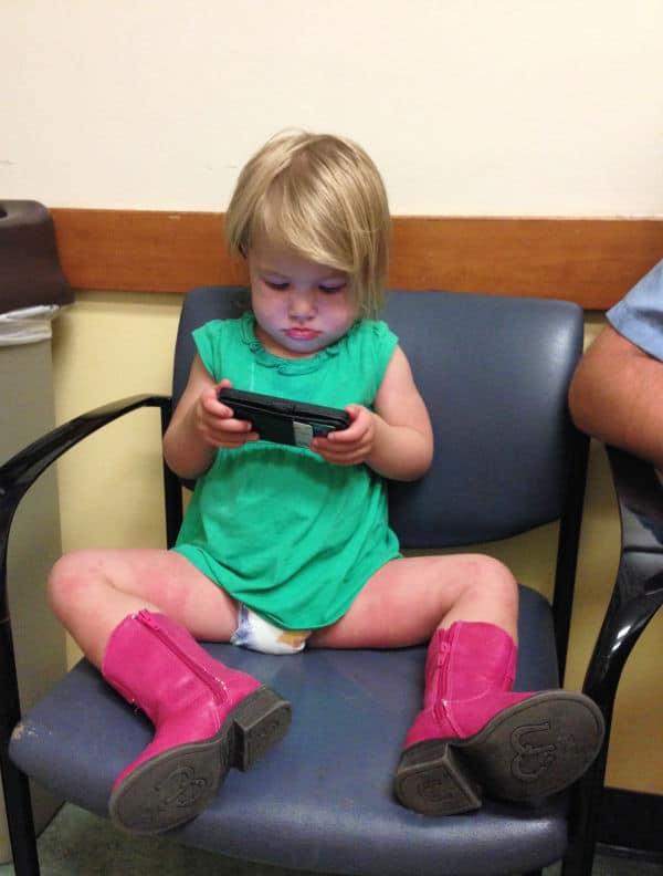 febrile seizure children's hospital visit