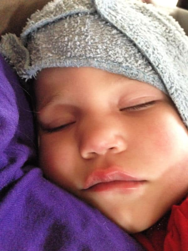 high fever in girl toddler before febrile seizure