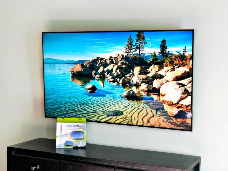 How to Hide Wires on Your Wall Mounted TV Feature
