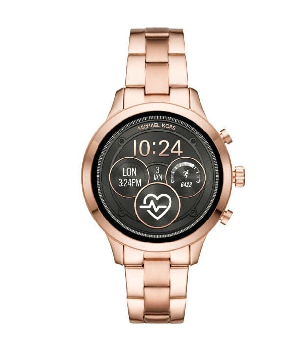 MK Rose Gold Smartwatch