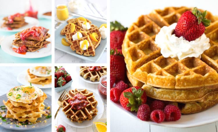 These 25 Quick & Easy Waffles Recipes range from basic and sweet to creative and savory. They're the perfect waffles recipes for every breakfast or brunch.