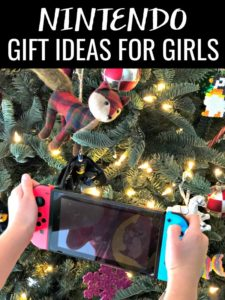 Not all girls are into dolls and princesses. Here are 5 Nintendo Gift Ideas for Girls (and boys) who like to game!It's everything they need and want! #sponsored #StarlinkGame #games #gamer #gamergifts #giftsforgirls #giftsforboys #nintendoswitch
