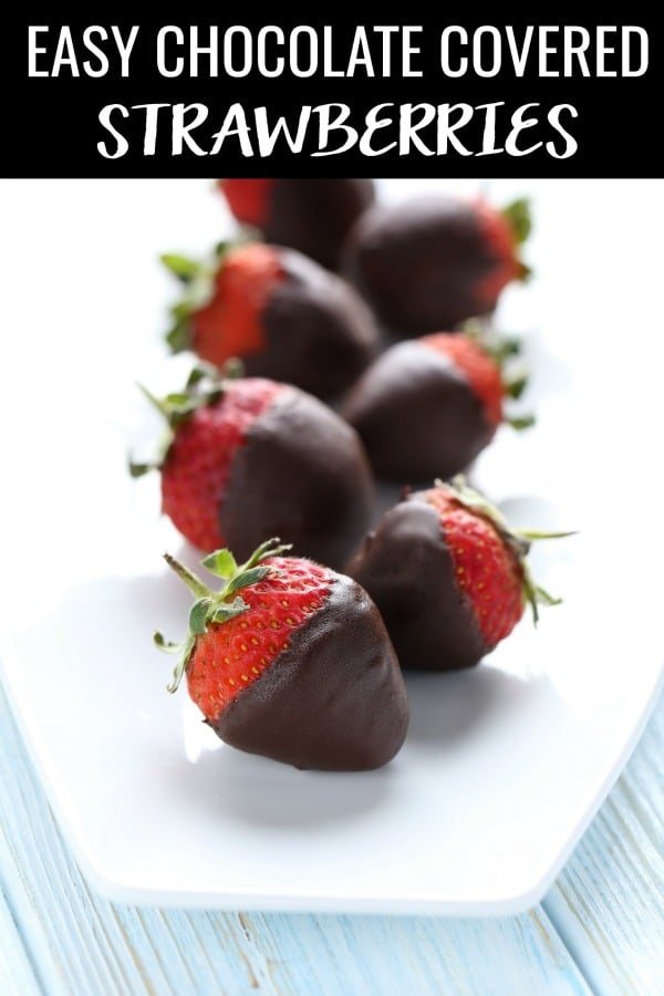 Every great hostess should know how to make chocolate covered strawberries. This easy chocolate covered strawberries recipe comes together in just minutes and always impresses guests. Or, make these Valentine's Day chocolate covered strawberry as a romantic dessert for someone special.