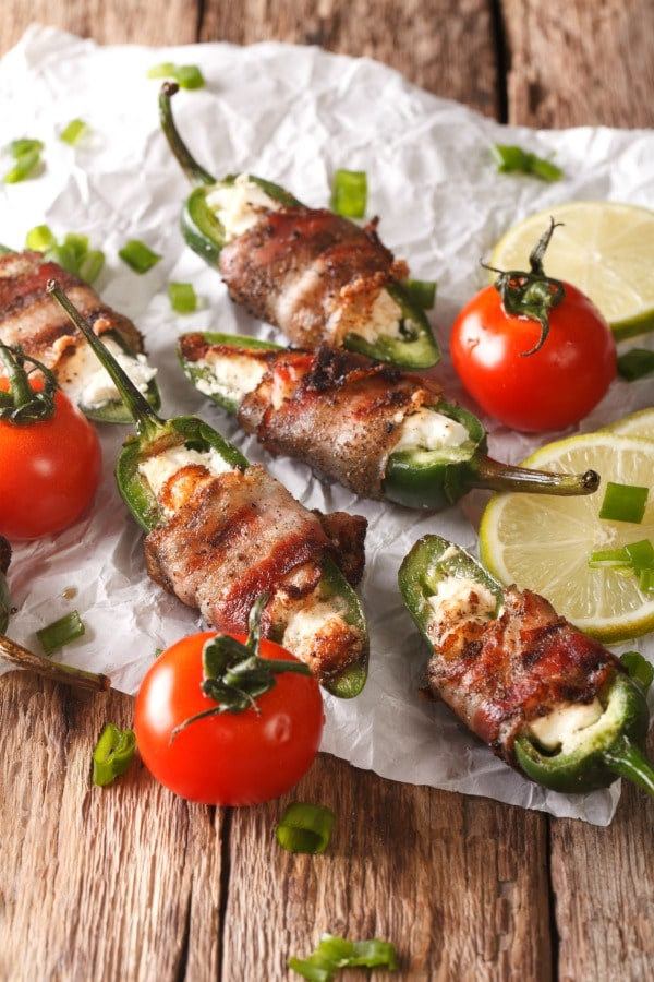 Keto Jalapeno Poppers Recipe – Wrapped in Bacon